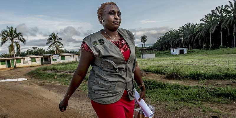 Nurse Elie Zagré in Burkina Faso