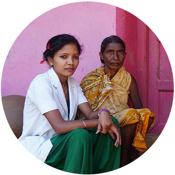 Babita Kashyap, an auxiliary nurse midwife