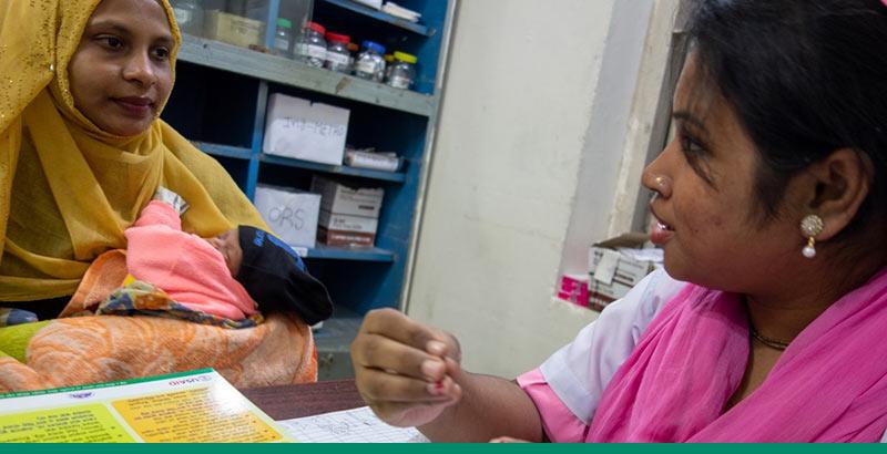 Midwife in Bangladesh