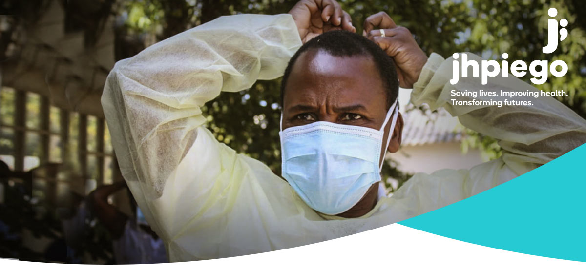 Health Worker in Mask